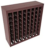 Wine Racks America® Ponderosa Pine 64 Bottle Deluxe. 13 Stains to Choose From!