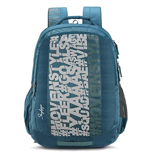 Skybags New Neon Polyester 35L Casual Backpack (Sea Green)