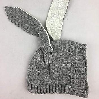 Winter Baby Hasenohren stricken Hut Kleinkind Kind Wolle Mütze KindED