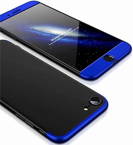Funda iPhone XS/iPhone X + Vidrio Templado Lanpangzi 360°Caja Caso ...