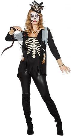 shoperama Voodoo Queen Mujer Top Medicinal Muñeco Chaquetas Parte ...