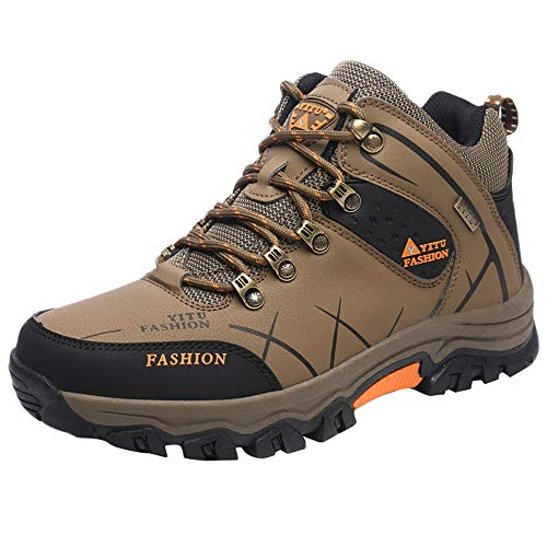 Most Wished! Teresamoon Casual Men's Outdoor Flat Off-Road Sport Hiking Shoe Keep Warm Non-Slip Sneaker