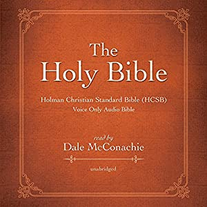 The Holy Bible: Holman Christian Standard Bible (HCSB) Audiobook