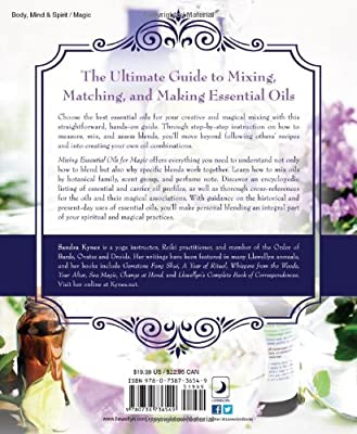 Mixing Essential Oils for Magic: Aromatic Alchemy for