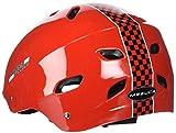 DAKOTT Ferrari Sport Racing Helmet, Red, Medium