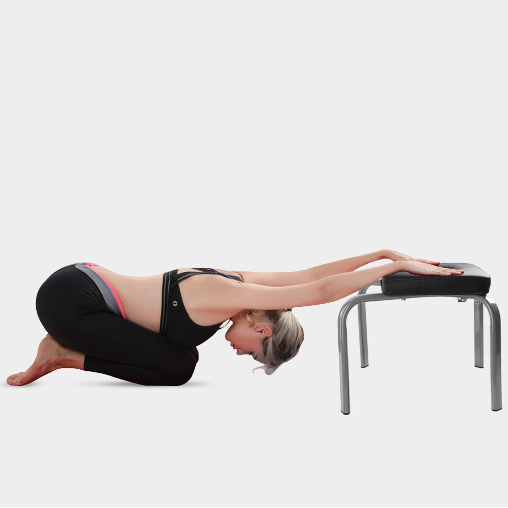 Scool Yoga Headstand Bench Yoga Inversion Chair Great for Workout, Fitness and Gym by Scool (Image #4)