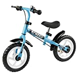 Enkeeo No Pedal Balance Bike 12 inch Cycling Walking Bicycle with Bell and...
