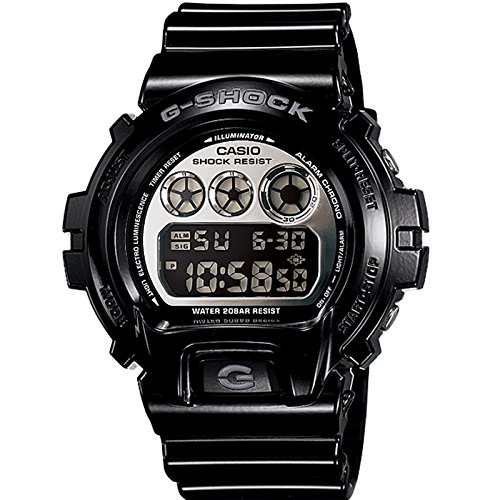 G-Shock Chrono 20 Bar Mirror Dial Men's watch #DW6900NB-1 (Watch Single Chrono)
