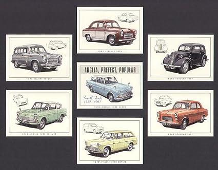 Ford Classic Cars 1950s 1960s - Popular 103E, Prefect 107E
