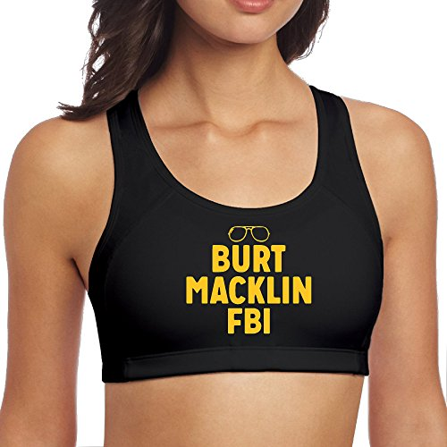 [XJBD Women's Cool Burt Sunglasses Sports Bra Black M] (Victorias Secret Costume Ideas)