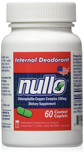 Image result for Nullo Internal Deodorant Tablets Controls Body Odors Safely and Effectively
