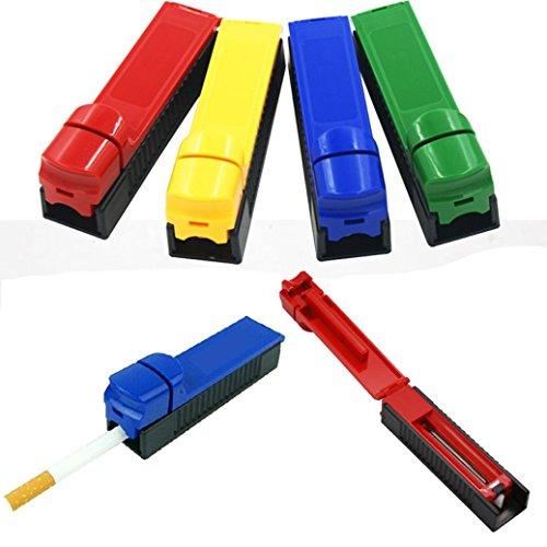 Manual Cigarette Tube Rolling Machine Tobacco Roller Maker Random Color