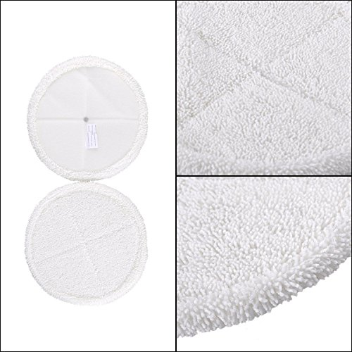 4 Pack Mop Pads for Bissell Spinwave 2039A 2124 Powered Hard Floor Mop by Ximoon (Image #5)