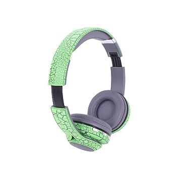 Auriculares de diadema inalámbricos Bluetooth V4.2, Hifi, estéreo, graves profundos,