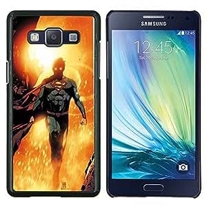 LECELL--Funda protectora / Cubierta / Piel For Samsung Galaxy A5 A5000 -- Carácter héroe dom Niños Flying'S --