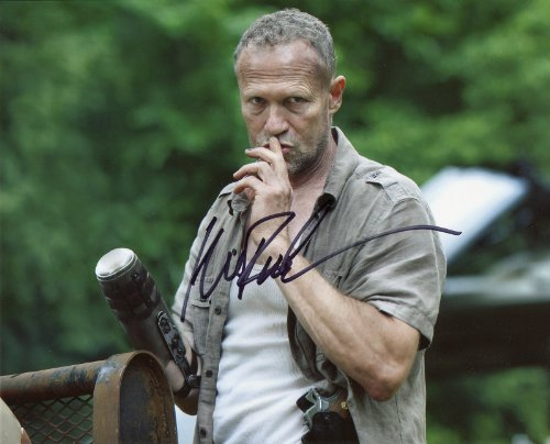 Michael Rooker Signed / Autographed 8x10 glossy Photo From the Walking Dead as Merle Dixon. Includes Fanexpo Certificate of Authenticity and Proof. Entertainment Autograph Original -