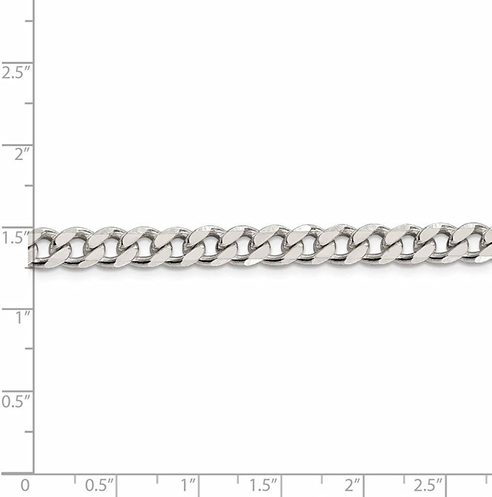925 Sterling Silver Classic Curb Chain Necklace