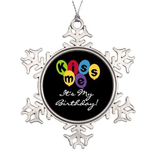 Acove Ideas for Decorating Christmas Trees Kiss Me It's My Birthday Halloween Tree Snowflake -