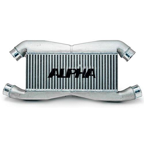 AMS ALPHA BOLT ON FRONT MOUNT INTERCOOLER for 2009-15 Nissan GT-R R35 ()