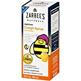 Zarbee's Naturals Children's Cough Syrup with Dark Honey Nighttime, Natural Grape Flavor, 4 Fl. Ounces