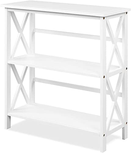 Tangkula 3-Tier Bookcase and Bookshelf Review