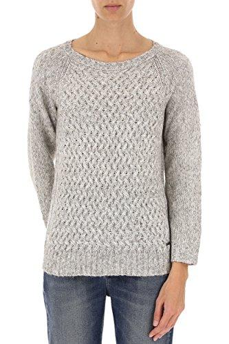 Mouliné Donna Wwmag1692 Grey Ya01 Maglione Yak Glacier Woolrich Stitch W's APYqwxZZz