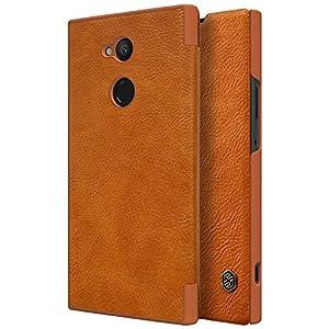 Sony Xperia XA2 Ultra Case,Mangix Flip PU Leather Wallet Smart Sleep Wake Protection Shell Case with Card Slot for Sony Xperia XA2 Ultra