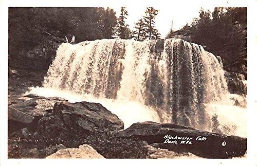 Black Water Falls Davis, West Virginia postcard