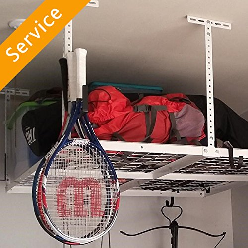 Overhead Garage Storage Installation - Up to 4X8 - 1 Unit by Amazon Home Services