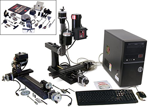 Ultimate CNC Machine Shop (Metric) with added