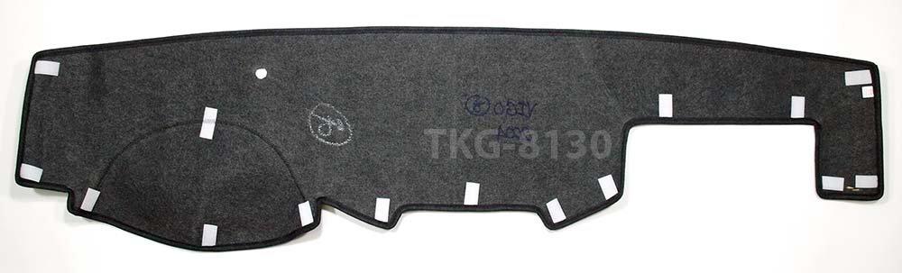 RHD Interior Dashboard Dashmat Dash Mat Pad Cover For Toyota Hilux Vigo Pickup 2005-2014 K1AutoParts