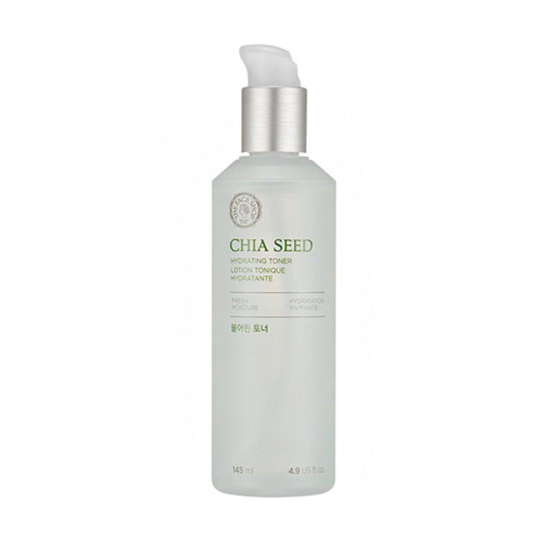 The Face Shop Chia semillas agua tóner + Loción: Amazon.es ...
