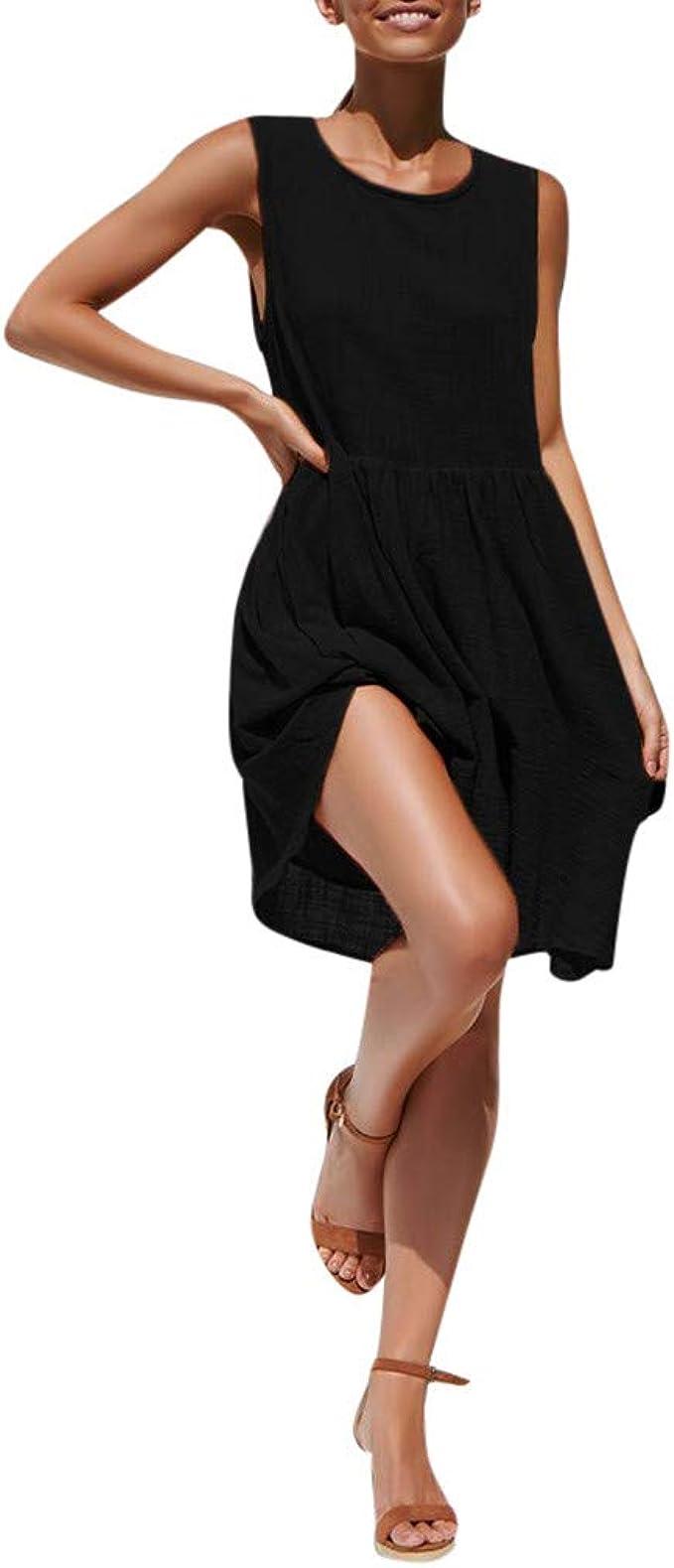 Kleid A Linie Langarm, A Kleider Damen Elegant Sommerkleid