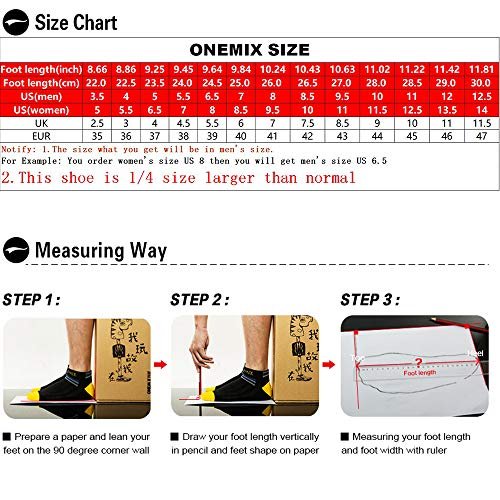 Air ONEMIX Sneakers Cushion Shoes and Walking Women for Darksilver Sports Men Running Casual dw4rwqU