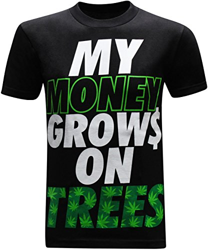 Money Grows On Trees Men's Funny T-Shirt
