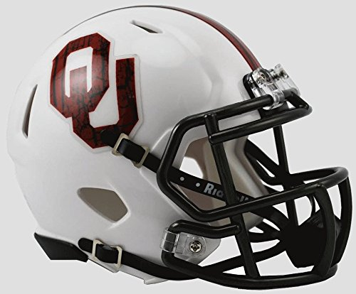 Mini Helmet Sooners Oklahoma (Oklahoma Sooners Speed Mini Helmet - Alternate