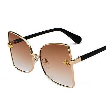 LLLM Gafas de sol Gafas de Sol cuadradas para Mujer Gafas ...
