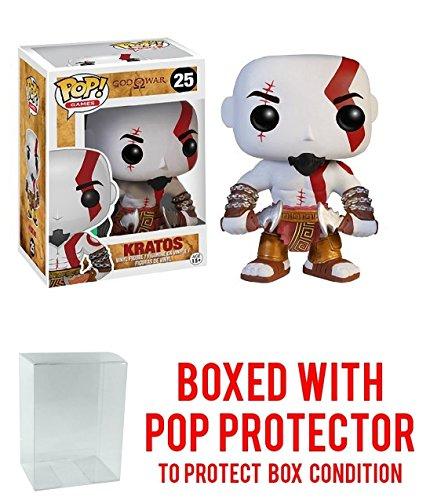 Funko Pop! Games: God of War: Kratos Vinyl Figure (Bundled with Pop BOX PROTECTOR CASE)