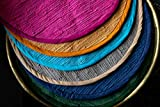 THE ART BOX Luxury Hand-Made Round Rugs for