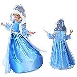 Daily Proposal FE6 Frozen Inspired Elsa Dress Halloween Costume Girl Size 3T-10 USA