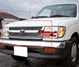 99 tacoma billet grill - APS Fits 98-00 Toyota Tacoma Regular Model Main Upper Billet Grille Insert #T66563A