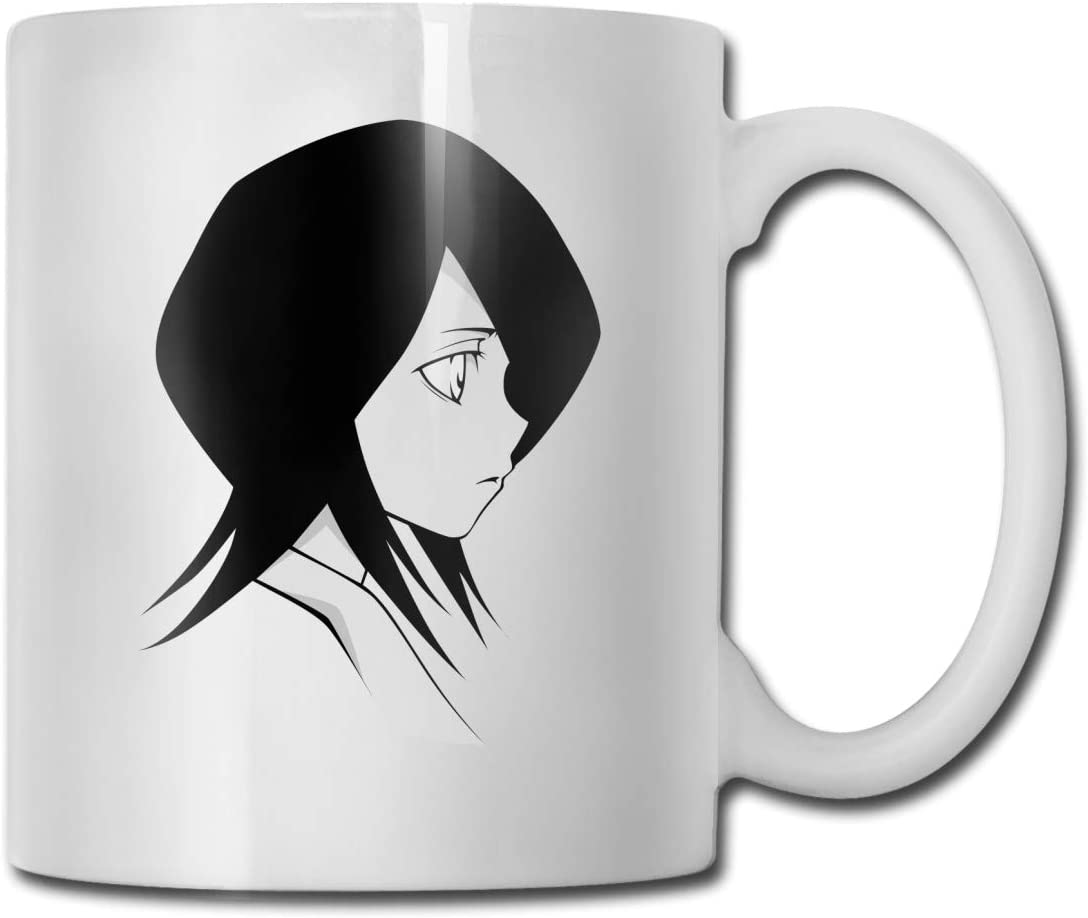 EVE JOHN Rukia Kuchiki Beautiful Customized Ceramics Mugs For Office