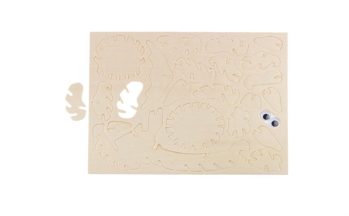 Primi DIY 3d en bois Hibou Bird formes Scie sauteuse Mod/èle Jeu de construction