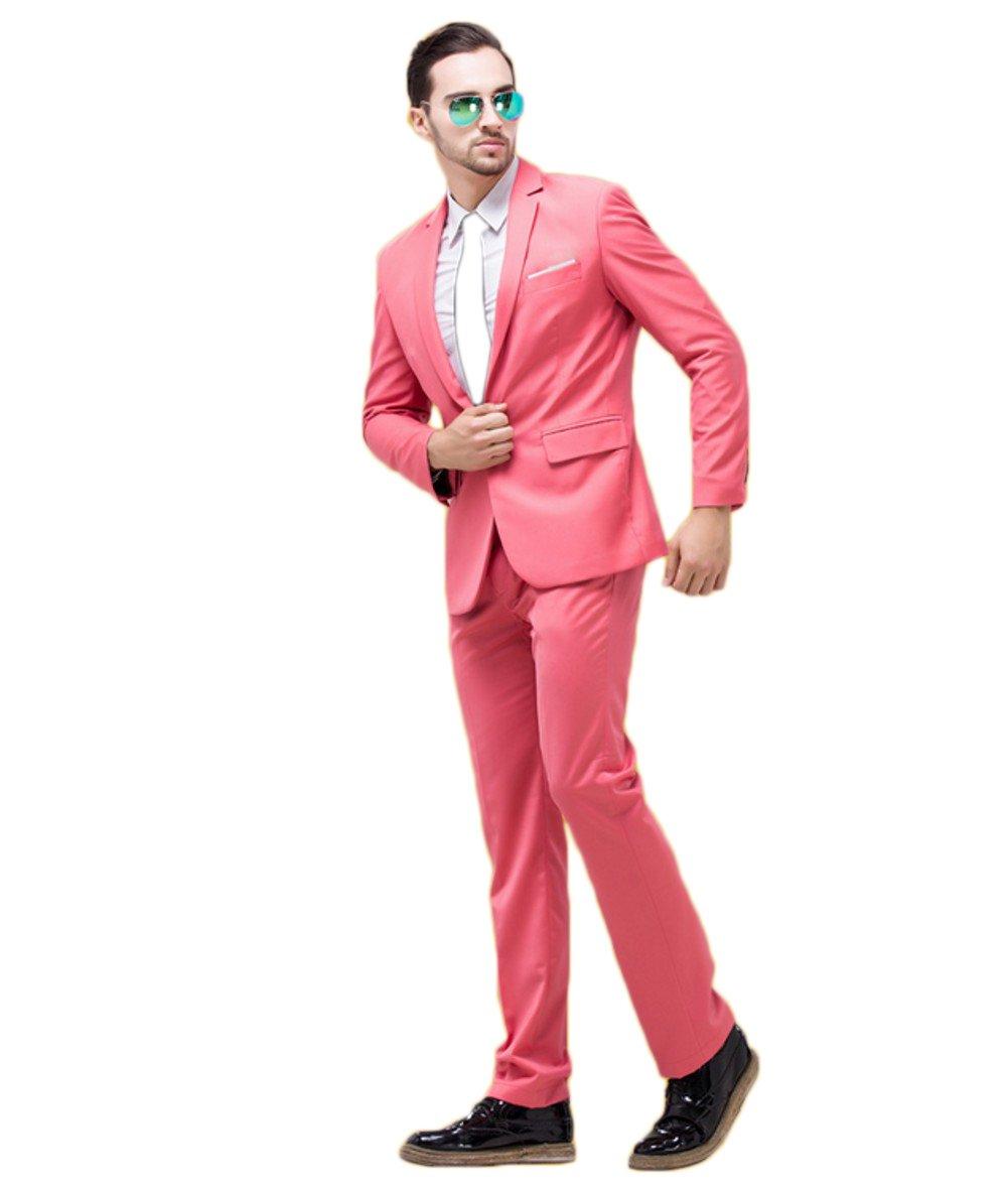 Love Dress One Button Men Suit Jacket Pant and Tie 5XL