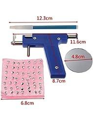 Healthcom Professional Ear Piercing Gun Tool Set 98pcs...