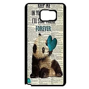 Good Looking Panda Bear Phone Case Cover for Samsung Galaxy Note 5 Panda Bear Unique Custom
