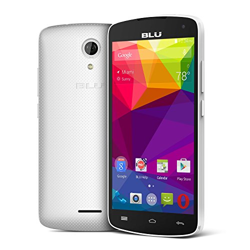 BLU Studio X8 HD - 5.0'' GSM Unlocked Smartphone -White by BLU (Image #1)