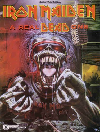 Iron Maiden -- A Real Dead One: Guitar/TAB/Vocal (Iron Maiden Sheet Music)