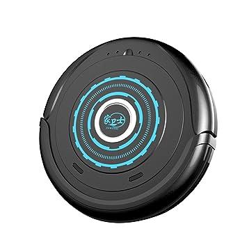 Everpert Robot Aspirador y Fregasuelos, Automático Inteligente Aspirador, Fácil de Limpiar (Negro): Amazon.es: Hogar
