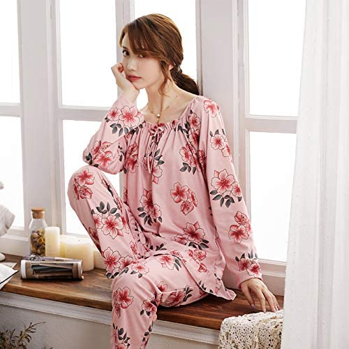 AOMISS Pijamas De Algodón Sexy De Gran Tamaño para Mujer, Chándal ...